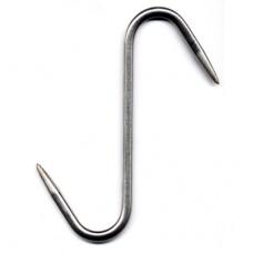 Stainless Steel 'S' Hook - 8″